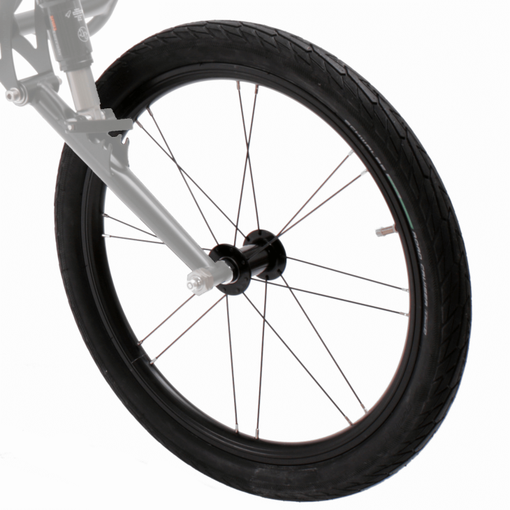 Spare wheel Singletrailer